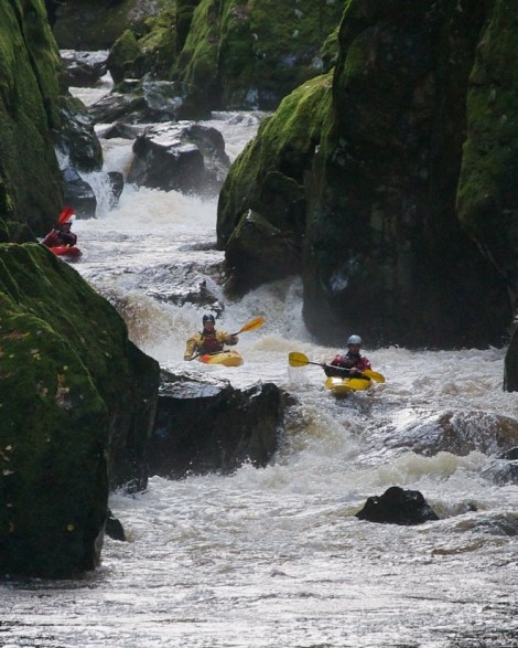 The Fairy Glen, River Conwy