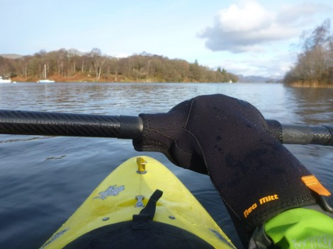 Paddling with a Palm Neo Mitt